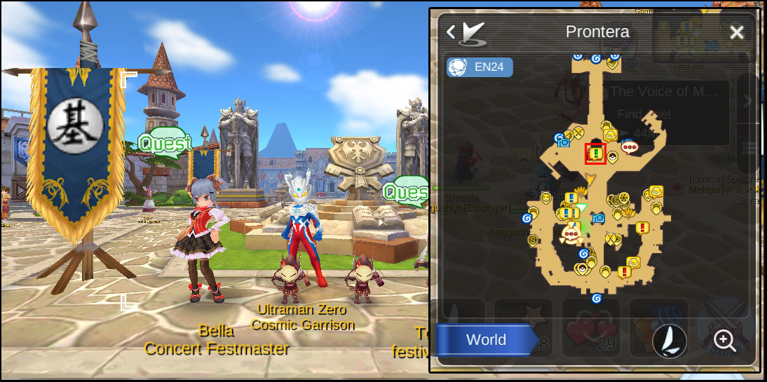 Ragnarok Online Mobile Diaries: EVENT : Live in SEA - The