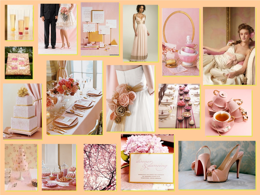 Our Wedding Bliss: Wedding Colour Theme