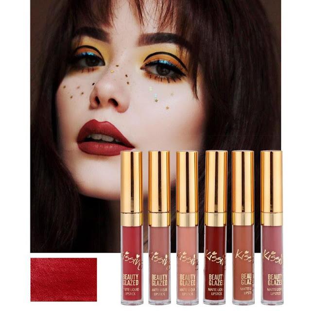 6 Piece: Liquid Beauty Glaze Lip Gloss Lipstick