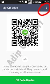 cara membuat link add invite friend id line