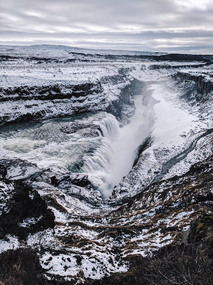 Five Things You Should Totally Do During Your First Trip To Iceland: Gullfoss Waterfall
