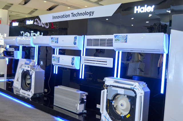 Haier exhibit booth