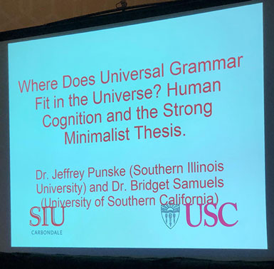 Some ISDC sessions covered wide topics about possible linguistical understanding of ETI messages