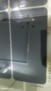 Leaked Image of a Nokia Smartphone With 5 Rear Cameras