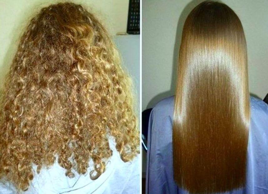 7 وصفات لتنعيم الشعر المجعد للأبد .