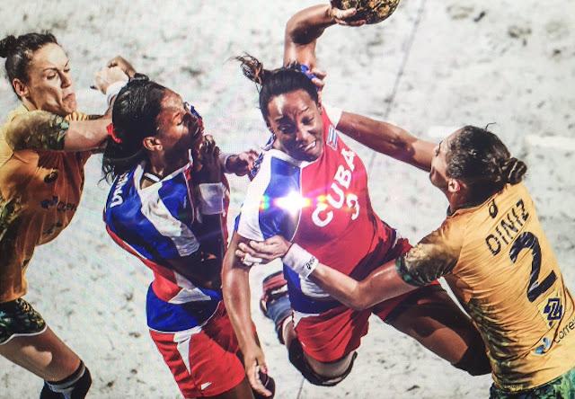 cubanas handball a españa
