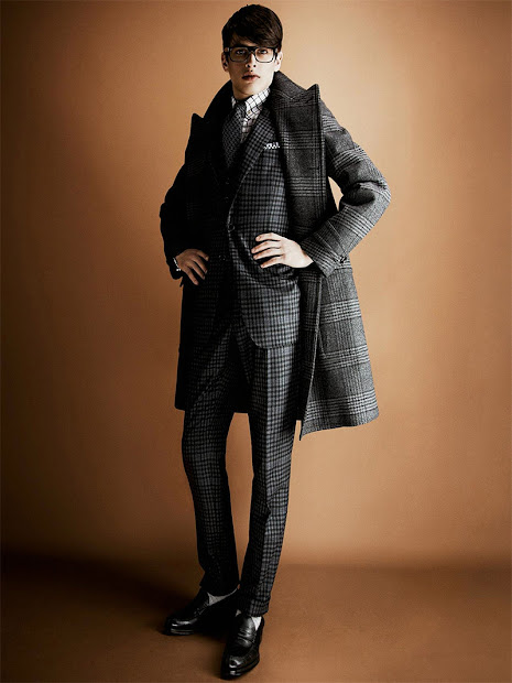 Cool Chic Style Dress Italian Tom Ford Menswear Fall Winter 2013 14 Collection