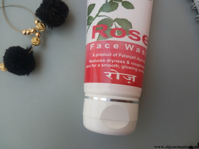 Patanjali Rose Face Wash Review: Ingredients