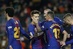Cuplikan Gol Barcelona vs Murcia 5-0 Copa Del Rey