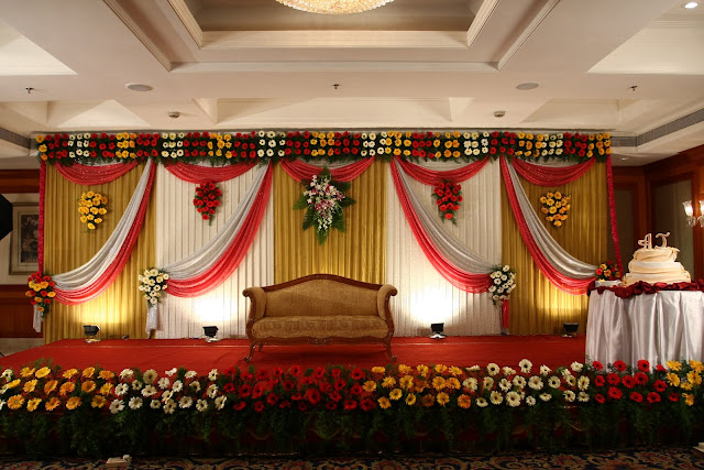 Stage Decoration Background