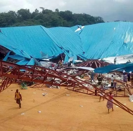 Collapsed Uyo church 'had many structural faults' – experts