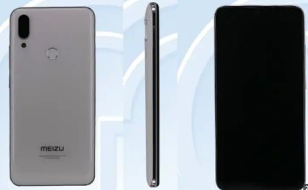 The Old photos of Meizu M9 note appear at TENAA, Waterdrop notes and dual camera setup revealed