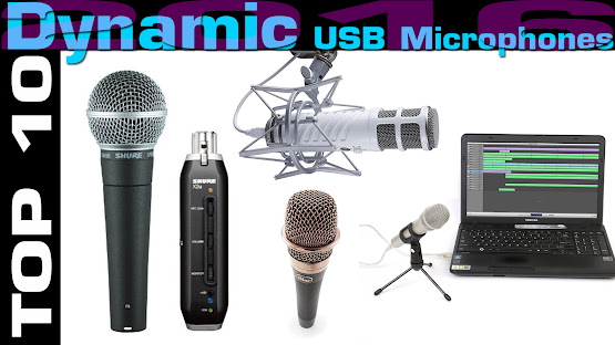 Top 10 Review Products-Top 10 Dynamic USB Microphones 2016