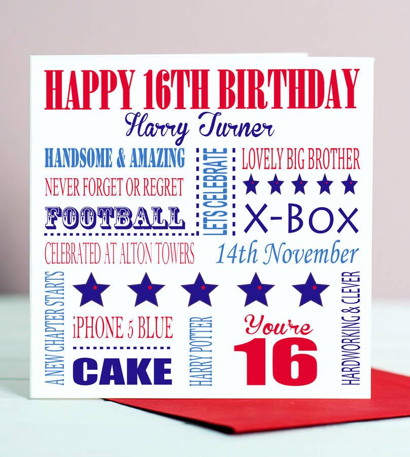 Best Birthday 16th Birthday Cards