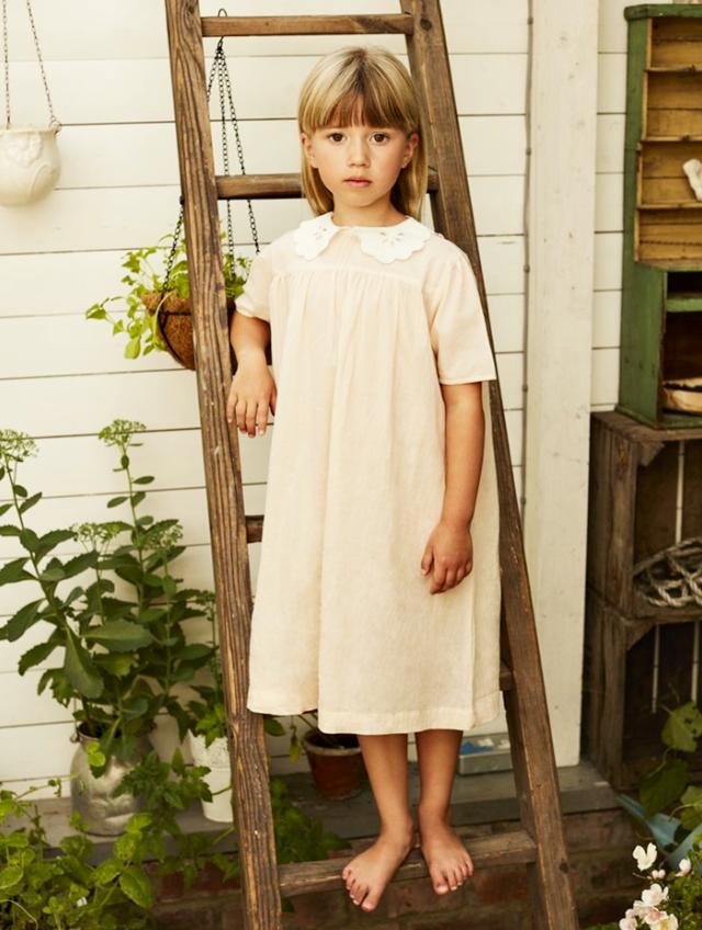 camisiones y pijamas infantiles vintage faune - la comunion de noa - blog comunion