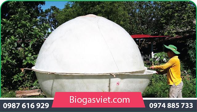 hầm biogas bằng nhựa