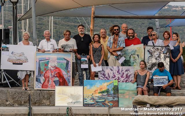 Mandrać – Mandracchio 2017 @ međunarodni likovni natječaj Volosko 27.08.2017