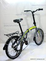 D 20 Inch Giant Alumunium Alloy Frame Folding Bike
