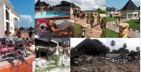 The Rivers State Government demolished the home of notorious kidnapper/militant leader, Don Wanny, Wanny was accused of masterminding the January 1st 2018 killings in Omoku, Rivers state