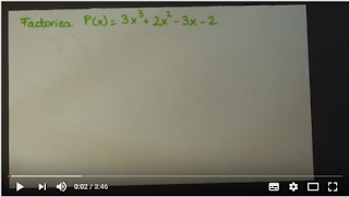descomposición factorial ejemplo 2