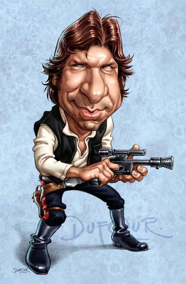 Han Solo por Santiago Dufour