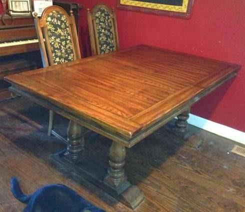 Craigslist Dining Table Makeover, Craigslist Dining Room Table