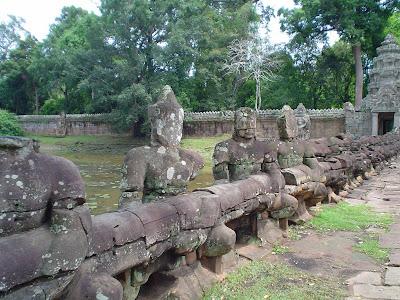 Bridge over Rios in Angkor Wat - Cambodia