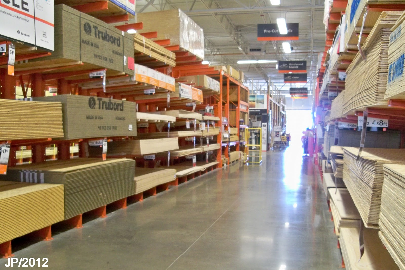Home Depot Building Supply