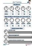 1.Klasse Mathematik Zeit Uhr PDF