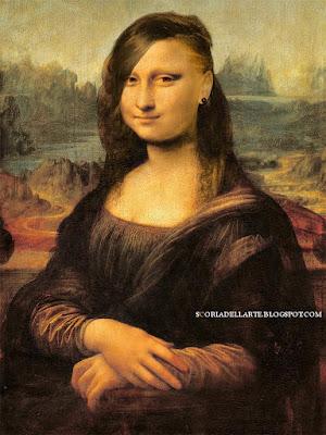 Tagli di capelli alla moda-Monna Lisa 2016-fotomontaggi di opere d'arte