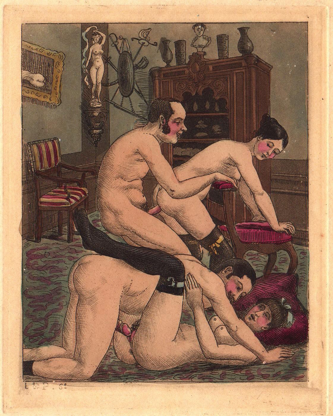 Порнофото 18-19 веков