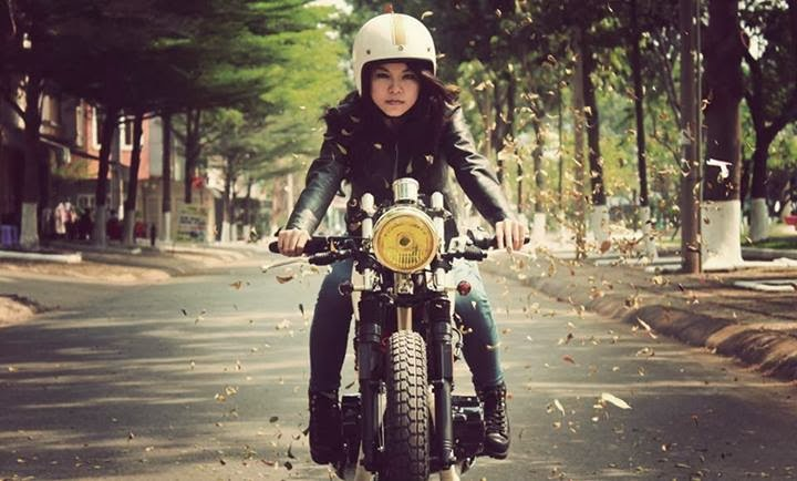 Mercenary Garage Cafe Racer Girl Vietnam