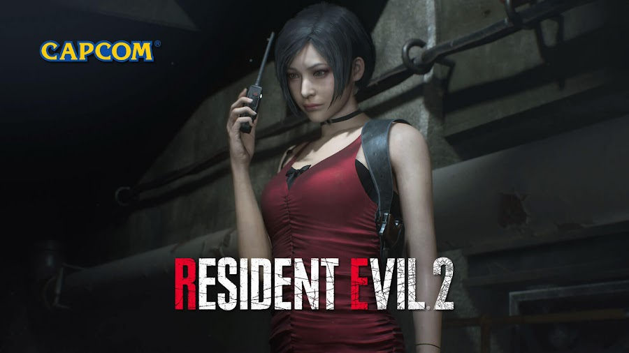 resident evil 2 remake ada wong screens