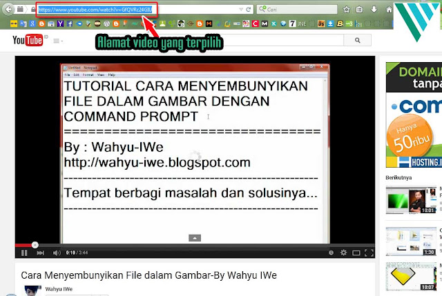 Cara Download Video Youtube Dengan 2 Huruf
