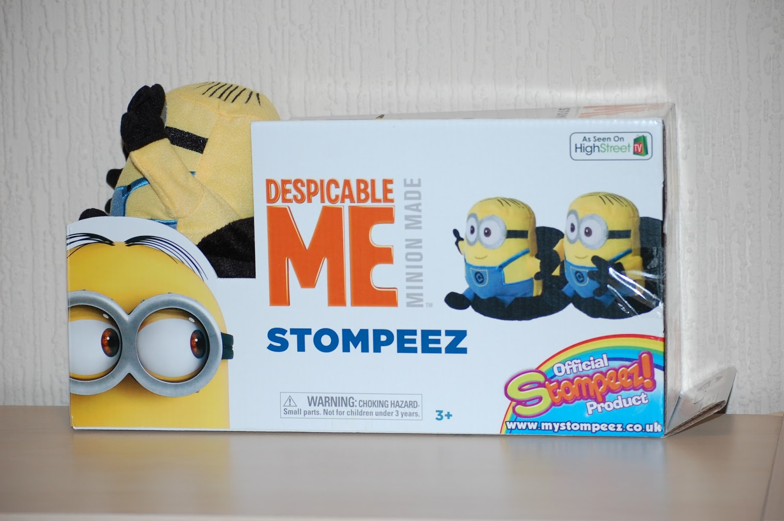 Minion Stompeez Slippers My Three And Me Despicable me 3 handclap trailer (movie hd) minions animation blockbuster hd. minion stompeez slippers my three and me