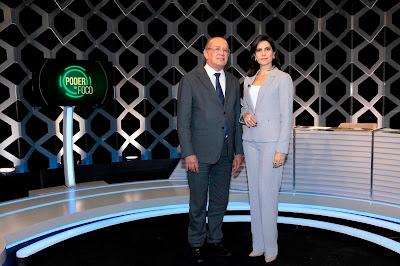 Ministro e Débora (Crédito: Lourival Ribeiro/SBT)