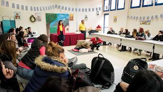 Παρουσίαση Α Βοηθειών στον ΟΑΕΔ – ΕΠΑΣ Κατερίνης από την  Διασωστική Ομάδα Πιερίας (Δ.Ο.Π)