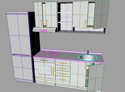 Sketsa kitchen-set