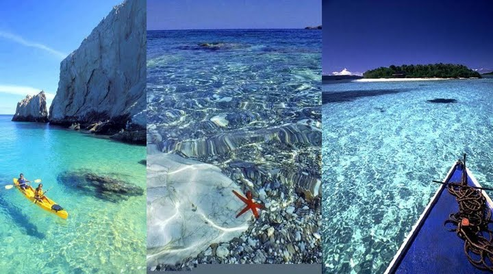 Enjoying The Clearest Waters In The World
