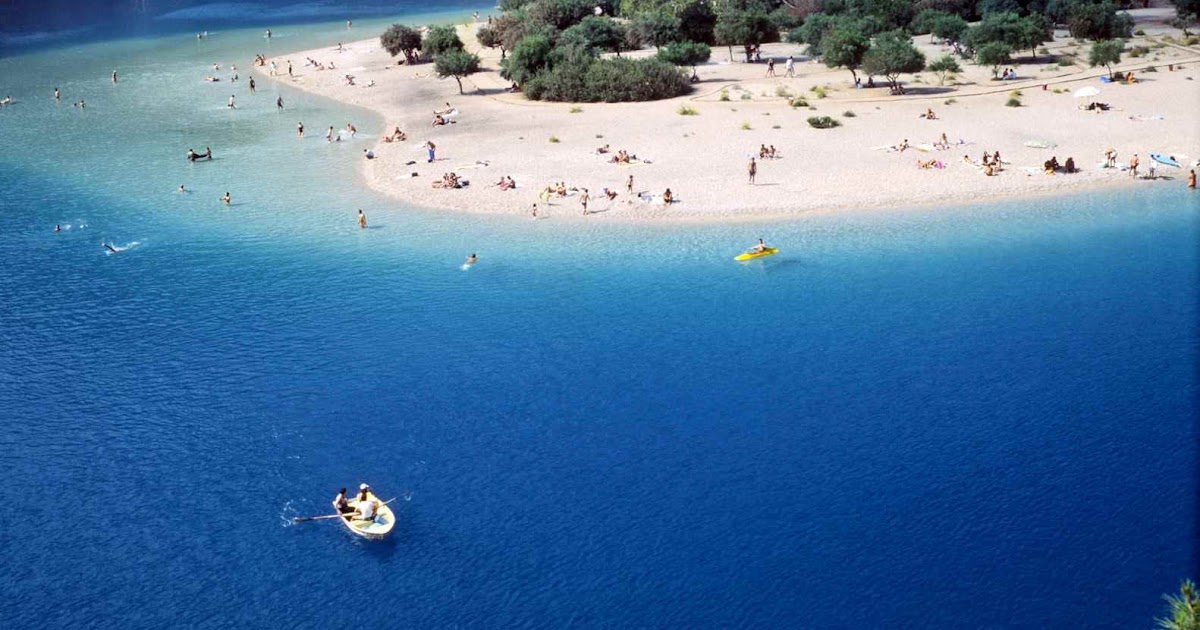 Oludeniz - A Beautiful Island Bay in Fethiye, Turkey ...