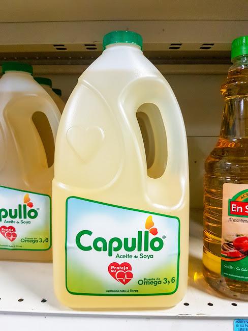 Aceite de soja Capullo