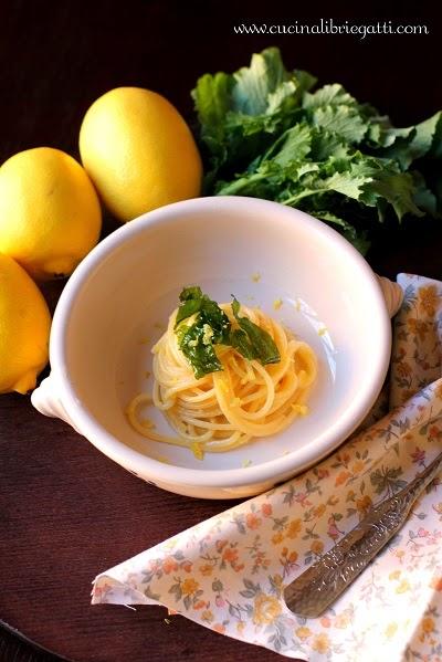 pasta al limone e broccoli ricetta