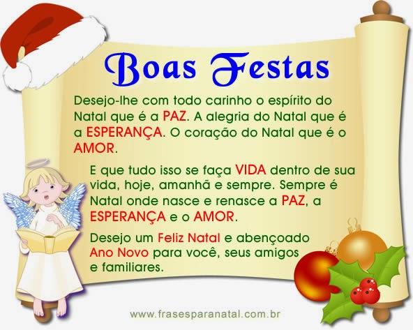 Mensagem De Final De Ano Escolar: Blog Da Angel ♥: Mensagens De Natal E Ano Novo
