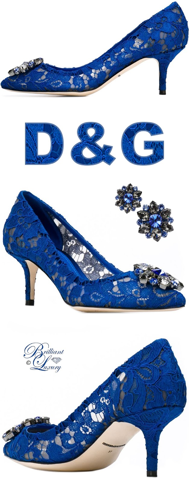 Brilliant Luxury ♦ Dolce & Gabbana Bellucci Pumps