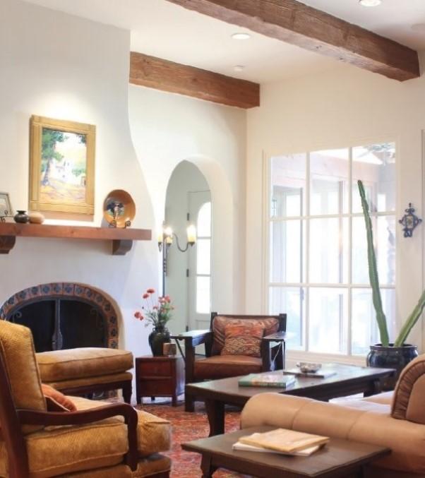 Spanish mediterranean homes interior design art home for Modern spanish decor