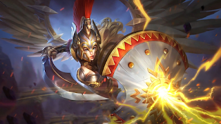 Download Script Skin Freya - Gladiator (Mobile Legend)