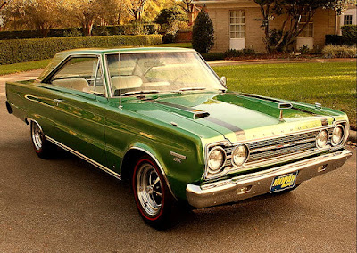 1967 Plymouth GTX 440 Magnum Sports Coupe Front Right