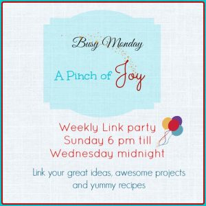 Busy Monday @ A Pinch Of Joy