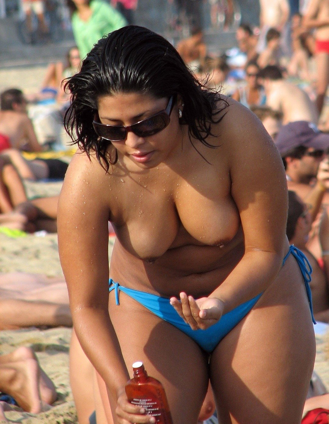 from Otto nude aunty at beach