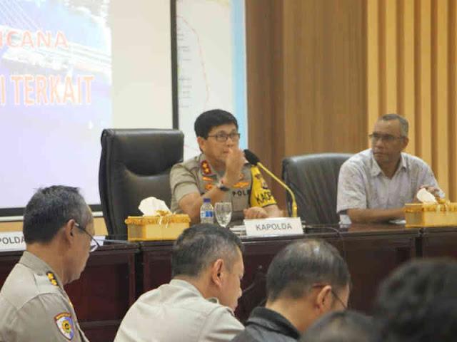 Polda Maluku dan Instansi Terkait Gelar Rakor Penanganan Tanah Bergerak di Kampus IAIN Ambon